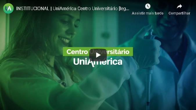 INSTITUCIONAL | UniAmérica Centro Universitário