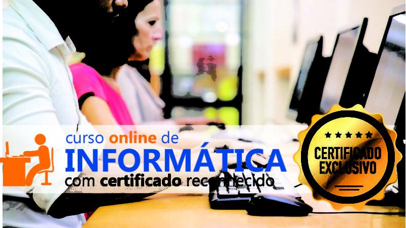 Curso Online de Informática com Certificado