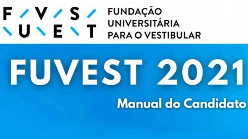 Fuvest disponibiliza Manual do Candidato do Vestibular 2021