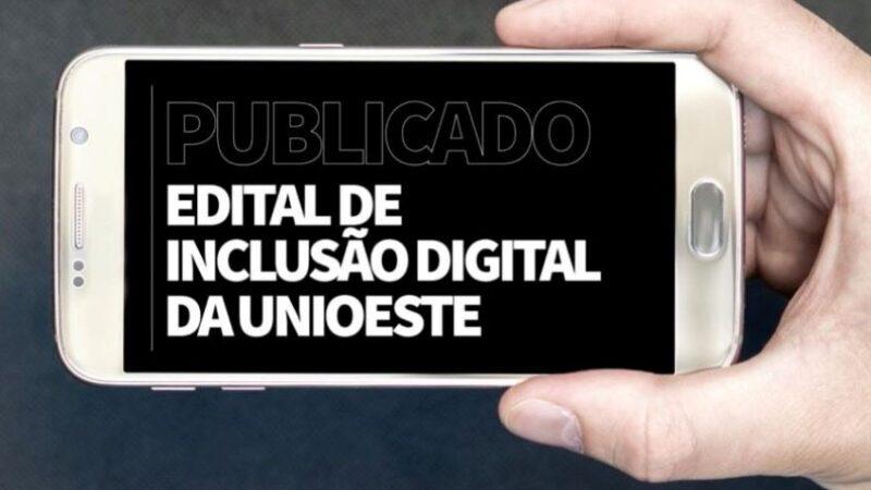 Unioeste lança edital para empréstimos de smartphones e pacotes de dados móveis