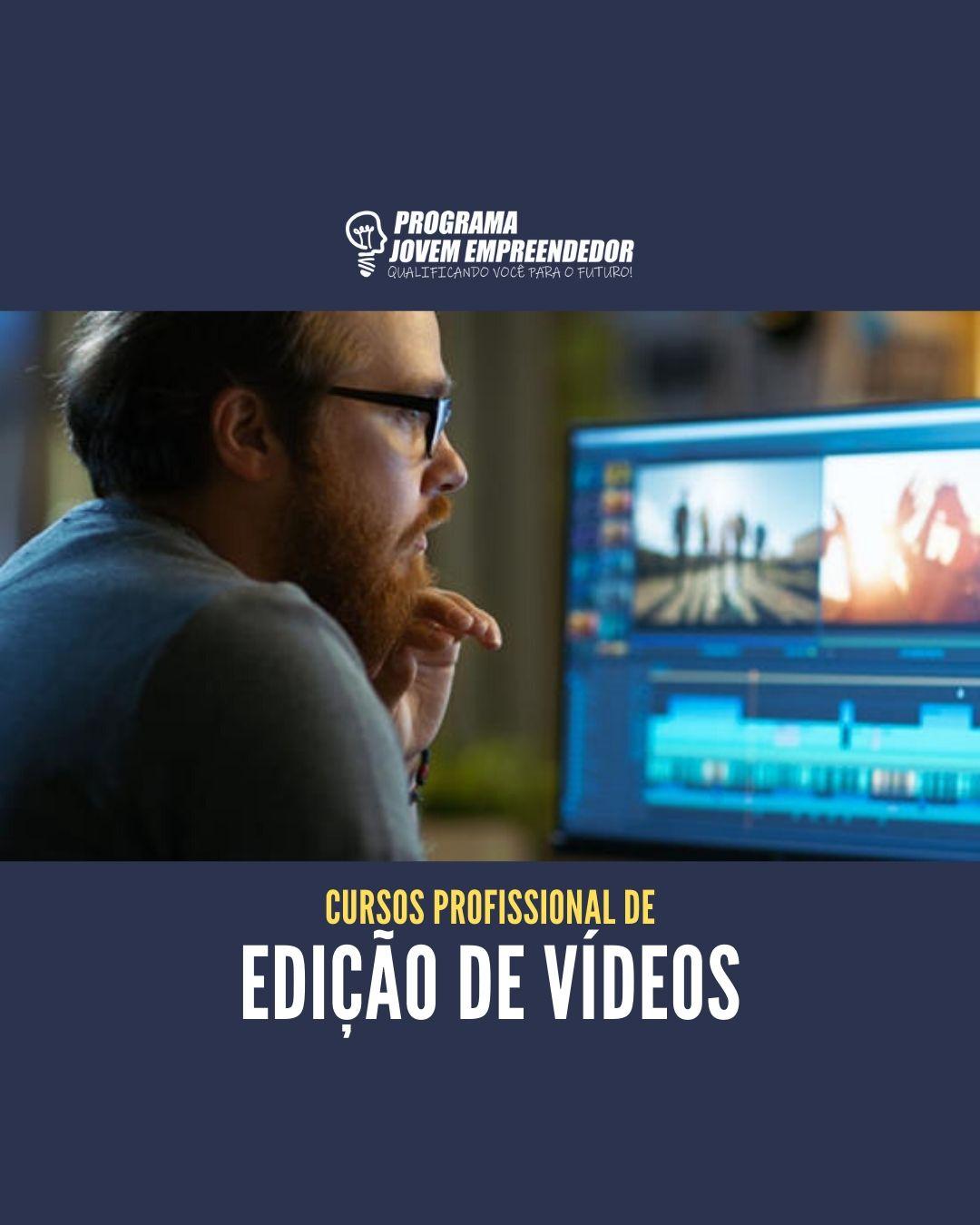 Curso de Edição de Vídeos e Motion Design